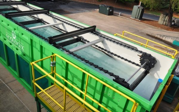 Operational logistics of on-site water treatment for hydraulic fracturing
