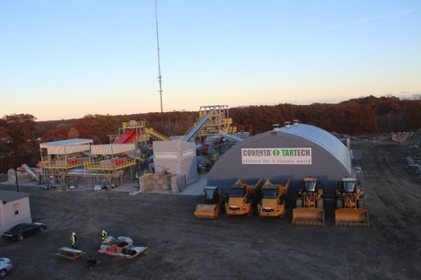 COVANTA TARTECH commence metals recycling project in Massachusetts