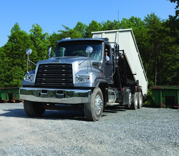 Freightliner Trucks offers twin steer prep kits for 114SD and 122SD