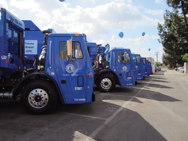Conversion to MACK TerraPro natural gas powered vehicles lightens the load in California