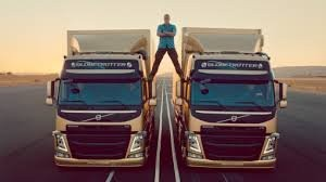'The Epic Split'  – most viewed  automotive commercial on YouTube ever