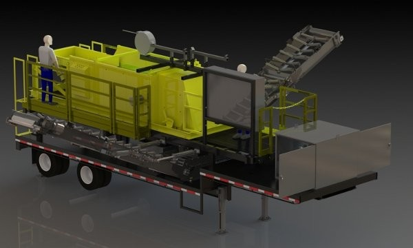 """Steinert's NES Eddy Current Separator is offered in multiple configurations for material sizes from 3/8"""" to 8""""."""