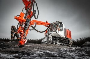 The new Sandvik Ranger surface drill rig offers  Renowned drilling efficiency with up to 20% lower fuel consumption