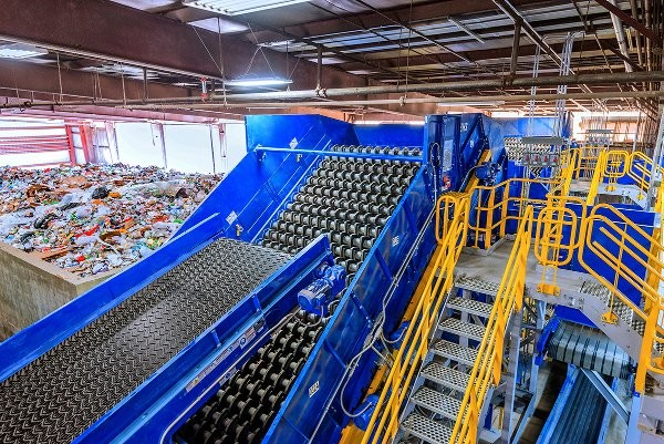 BHS's NewSorter at Republic's new Conover Recycling facility in Catawba, NY