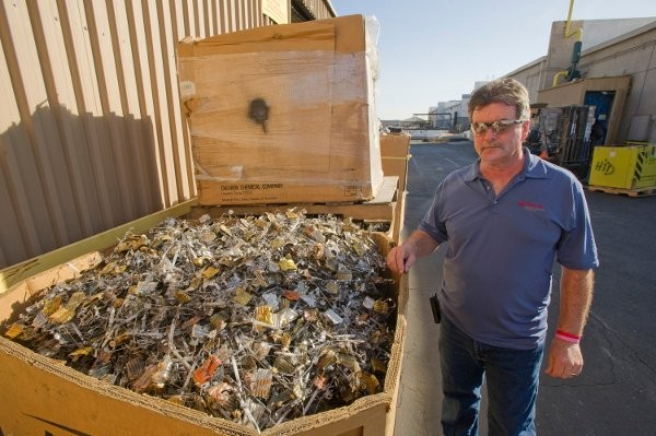 Veolia e-waste division sees improvement in CSA Score with electronic fleet management system