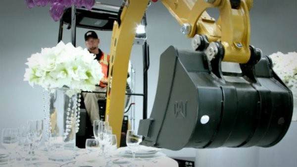 """Cat Mini Excavator Proves it's Not a """"Bull in a China Shop"""""""