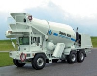 Truck designed for pre-cast operations