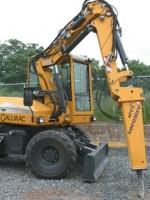 Multi-function machine is excavator / front-end loader / man-lift / material handler / crane / trenching machine / brush cutter