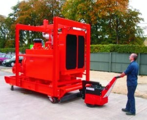 Machine eliminates risk in moving heavy loads around