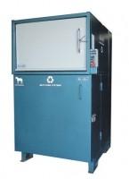 Plastics compactor