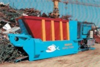 Scrap shear designed for economical processing