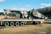 Portable crushing plant designed for high capacity in tough applications