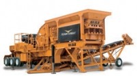1400-45 crusher features three stage crushing action