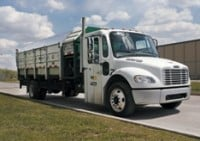 New recycling trucks designed for easy entry and exit