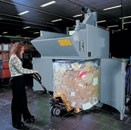 Bin compactor designed for extreme ease of use