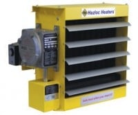Electric forced-air explosion-proof heaters