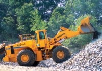 Increased engine torque on upgraded wheel loader