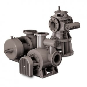 Twin screw industrial and multi-phase pumps