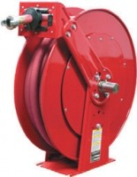 Pavement breaker reels keep hoses out of harm's way