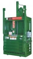 """Big Green""vertical hydraulic baling machine"