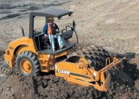 Rollers provide efficient compaction force