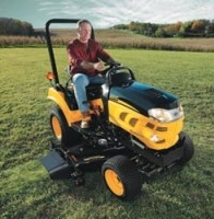 Big tractor features in a subcompact size