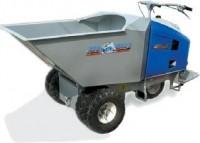 Walk-behind or ride-on mud buggy