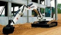 Terex TC125 compact crawler excavator