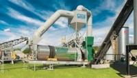 Astec Double Barrel dryer/ mixer ideal for RAP