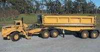 Mining haulage trucks