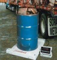 Portable drum / barrel scales