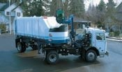 Semi-trailer side loaders