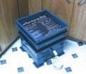 Worm bin composting system