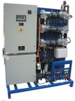 On-site sodium hypochlorite generating system