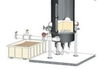 Mineral extraction pellet  reactor system