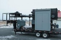 Mobile incinerator destroys PCBs on site