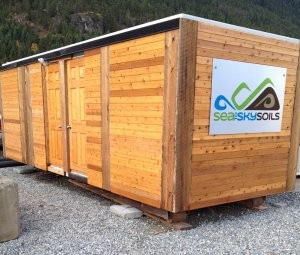 Remote site, modular composting solution