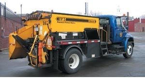 All-in-one flameless pothole patcher reduces waste