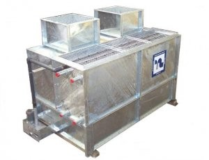 Cost-effective wet surface air cooler for variety of industries