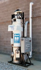 Wet particulate dust collector