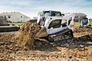 Bobcat's largest compact and skid steer loaders