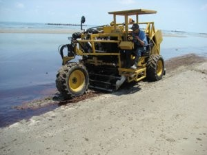 Beach sand screeners ideal for spill clean-up