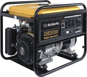 Conventional generators powered by EX overhead cam engines