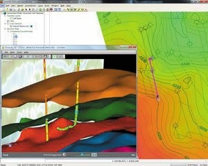 Geomodelling while drilling software