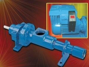 Metering pump with enhanced pumping elements