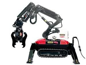 Remote controlled  demolition robot