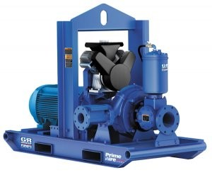 Prime Aire Plus line of pumps have higher head and flow