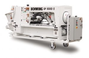Schwing offers 20-hp pea gravel pumps to 590-hp concrete pumps