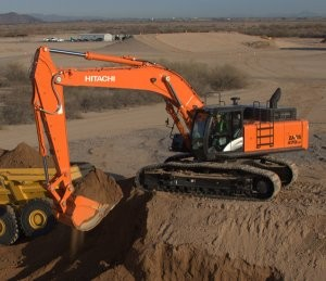 Hitachi Zaxis 470, 670, 870 Dash-5 Excavators Debut