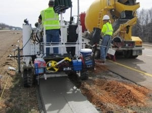 New Curb Fox slipform paver delivers jobsite versatility